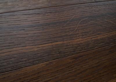 Deska warstwowa wykończona DECO LINE Colection Dąb Dark (Wędzony)
